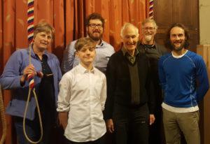 Jane, Angus, Ed, David, Chris and Ed