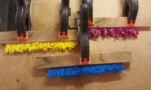 Three colour strips